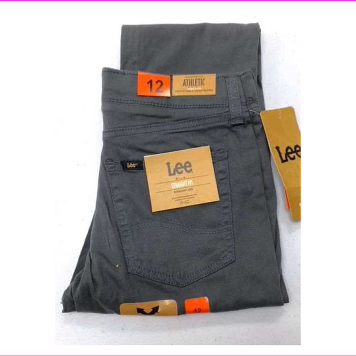 LEE BOYS X-TREME COMFORT STRAIGHT FIT STRAIGHT LEG ATHLETIC JEANS