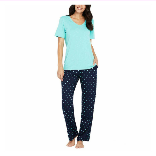 Splendid Women 2-Piece V-neck Top Pajama Lounge Set