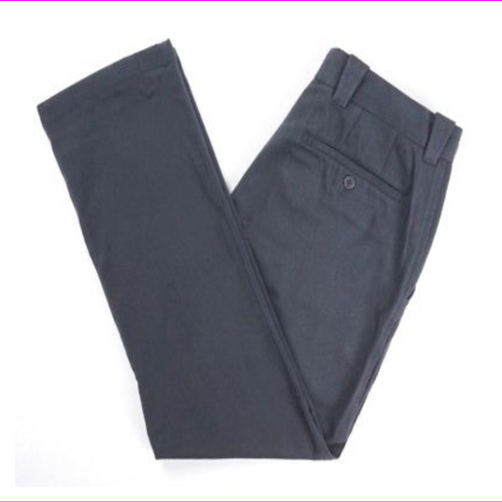 BLOOMINGDALE'S Twill Straight Fit Pants