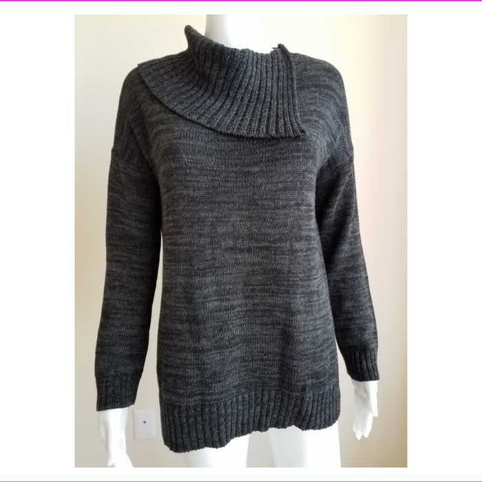 WOMEN'S MATTY M  KNIT ENVELOPE NECK SWEATER