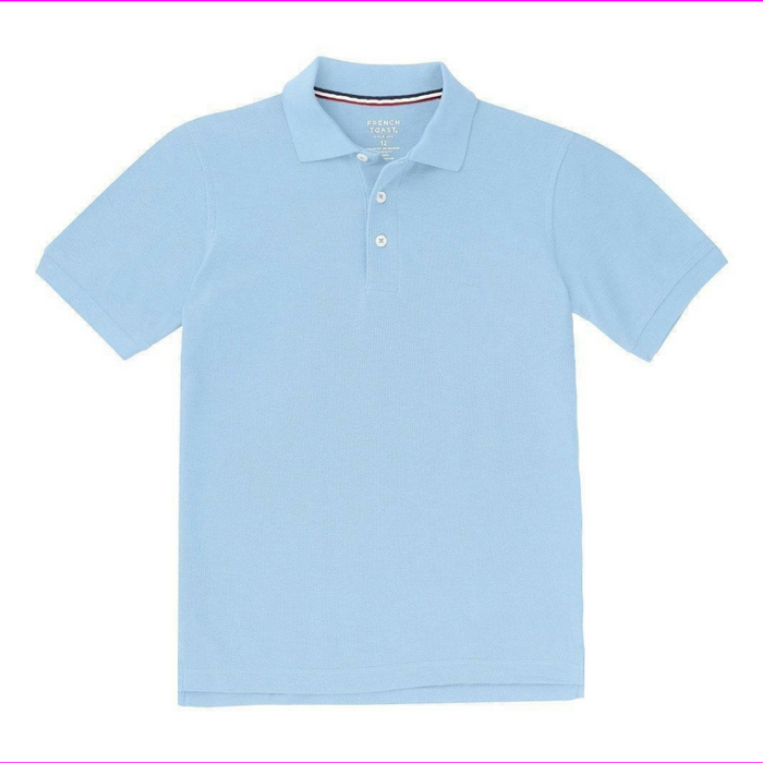 French Toast Boys/Girls 2 Pack Regular Polo Shirt