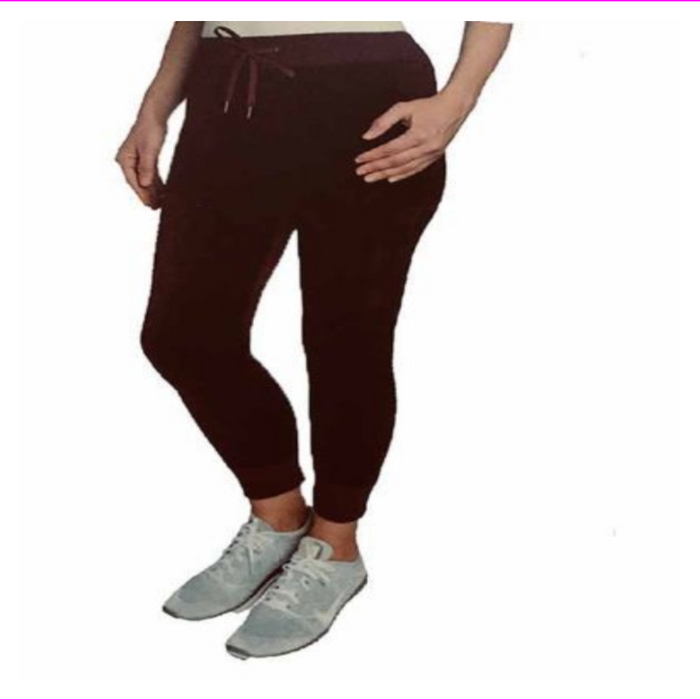 Champion Ladies' Velour Track Jogger Pants