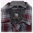 BC Clothing Men's Plaid Quilted Shirt Jacket