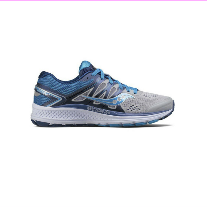 Saucony Women's Omni 16 Running Sneakers Shoes M Grey/Blue