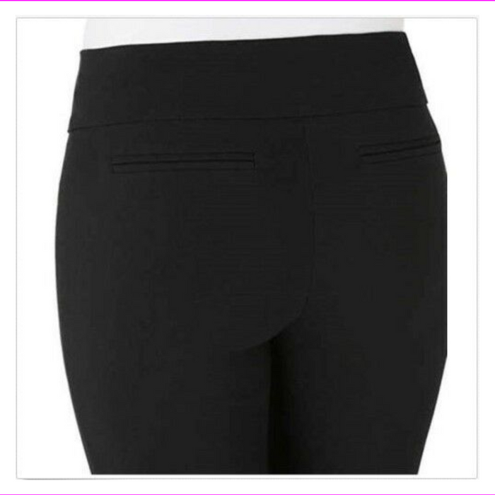 Hilary Radley Ladies' Pull-on Pant Black 4