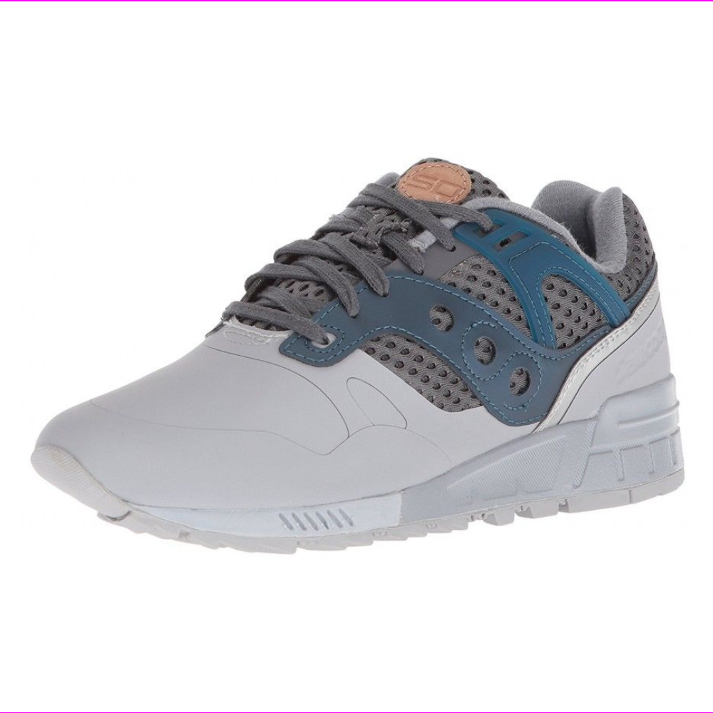SAUCONY MEN'S SHOES SNEAKERS GRID SD HT Grey/Blue