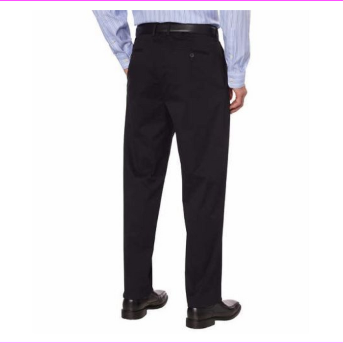MagnaClick Men's Stretch Pants Stress Free Magnetic Closure Apparel