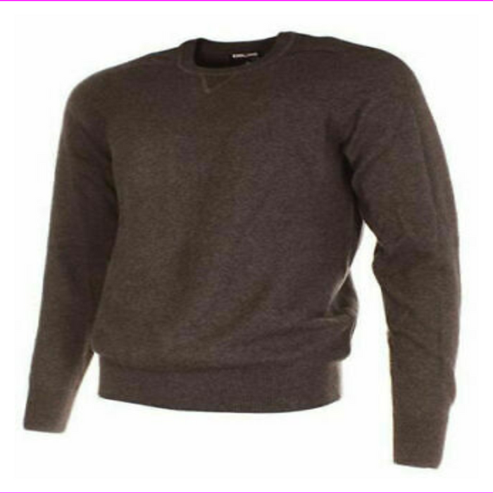 Kirkland Signature Men's Extra Fine Merino Wool Pima Cotton Sweater