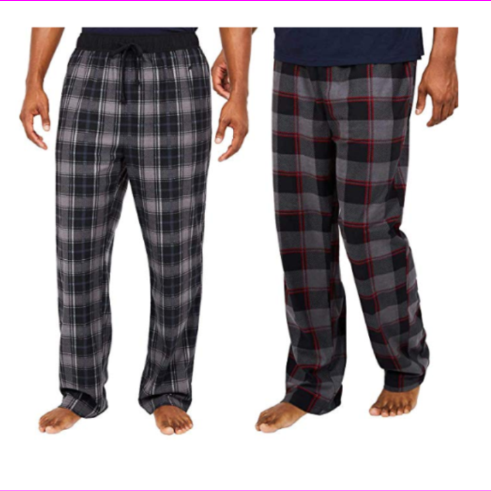 2 Pack Men's Nautica Fleece Pajama Lounge Pants