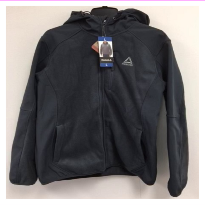 Reebok outerwear full zip Fleece