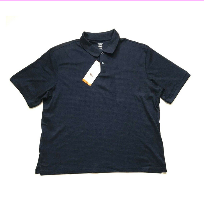 Hudson River Men's Short Sleeve Polo Shirt