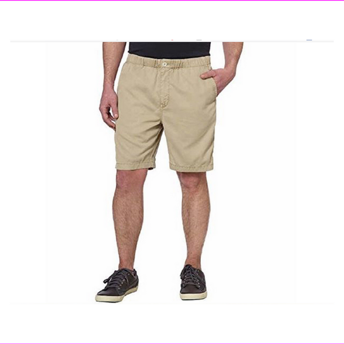 Kirkland Signature Men's Cordouroy Cargo Short, Drawstring, Button/Zip Closure