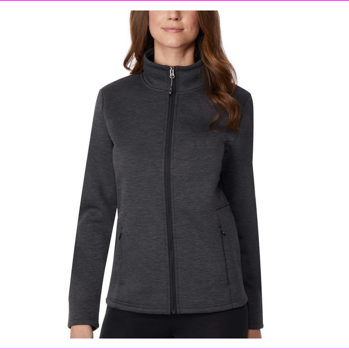 32 Degrees Ladies' Plush Lined Tech Fleece Jacket