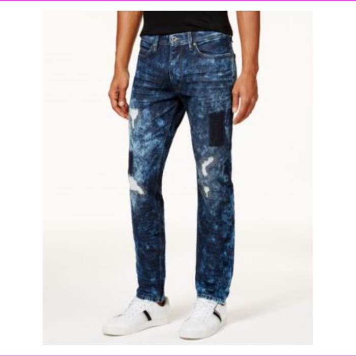 Sean John Men's Mercer Armageddon Slim-Straight Jeans