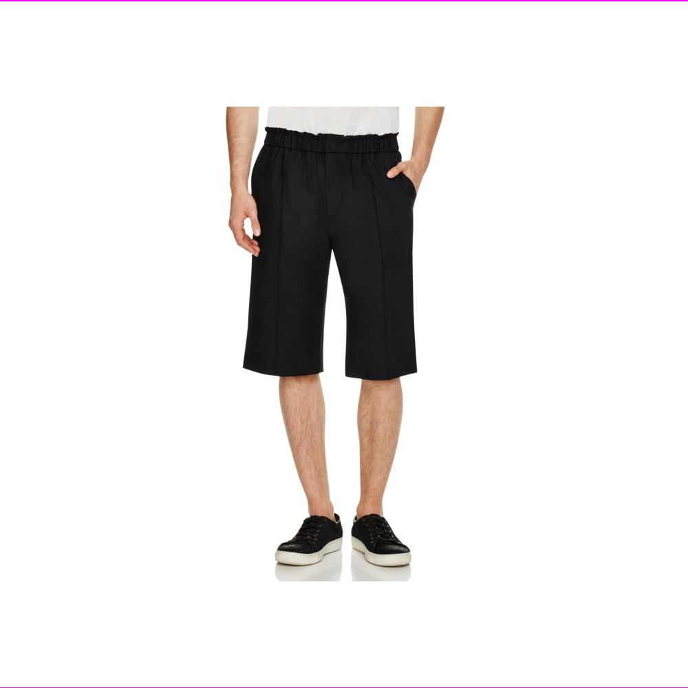Public School Acklin Stretch Wool Suiting Shorts