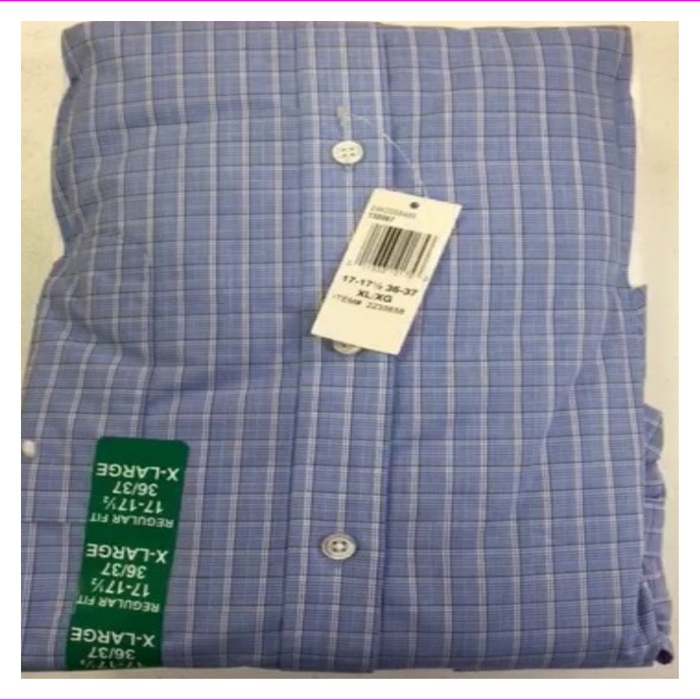 Tommy Hilfiger Mens Regular Fit Stretch Shirt Two Pack