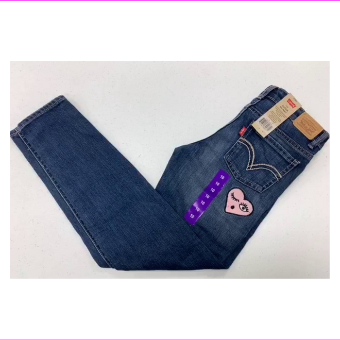 Levis Girls 710 Super Skinny Adjustable waistband Jeans