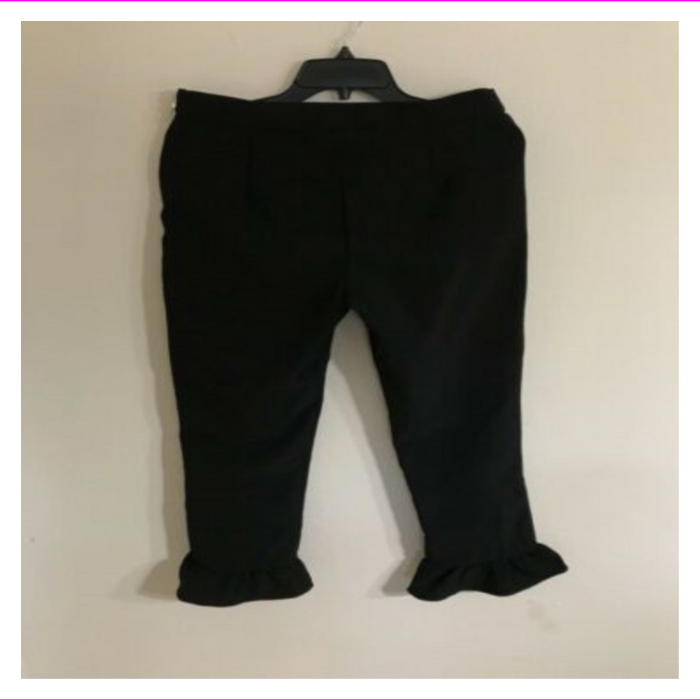 SHIFT Juniors Ruffled Cropped Pants