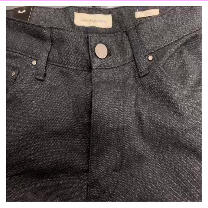 Calvin Klein Easy Fit Mens Jeans Straight Leg