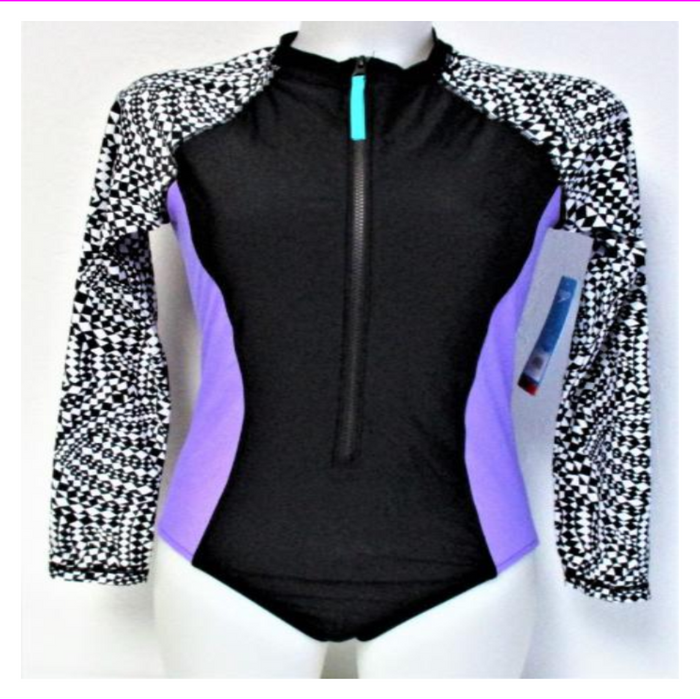 Speedo Ladies UV Sun Protection Long Sleeve Swimsuit