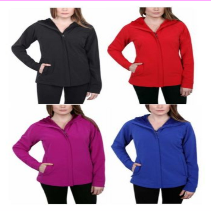 Kirkland Signature Ladies Softshell Jacket Fuchsia Heather XL