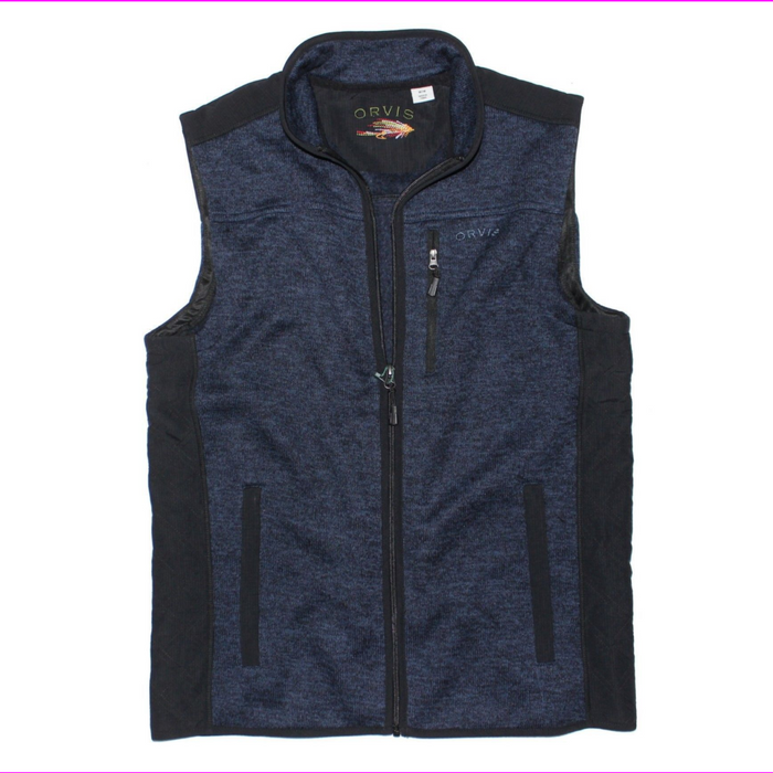 Orvis Men's Classic Fleece Sweater Vest