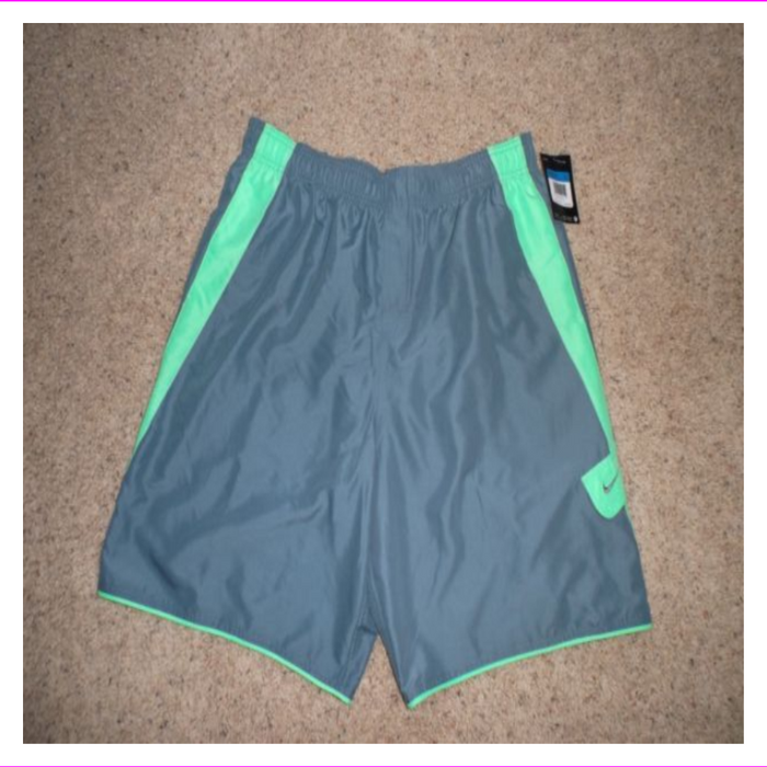 Nike Mens Stretch Waist Adjustable Fit Swim Shorts