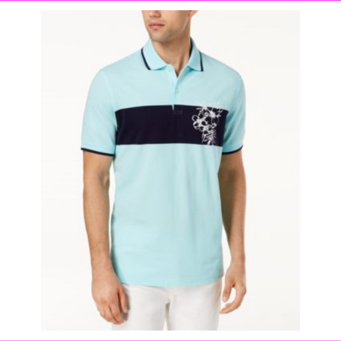 Club Room Men's Floral Polo