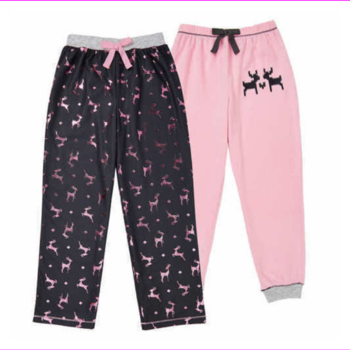 Saint Eve Girls' 2 Pack Sleep Pant