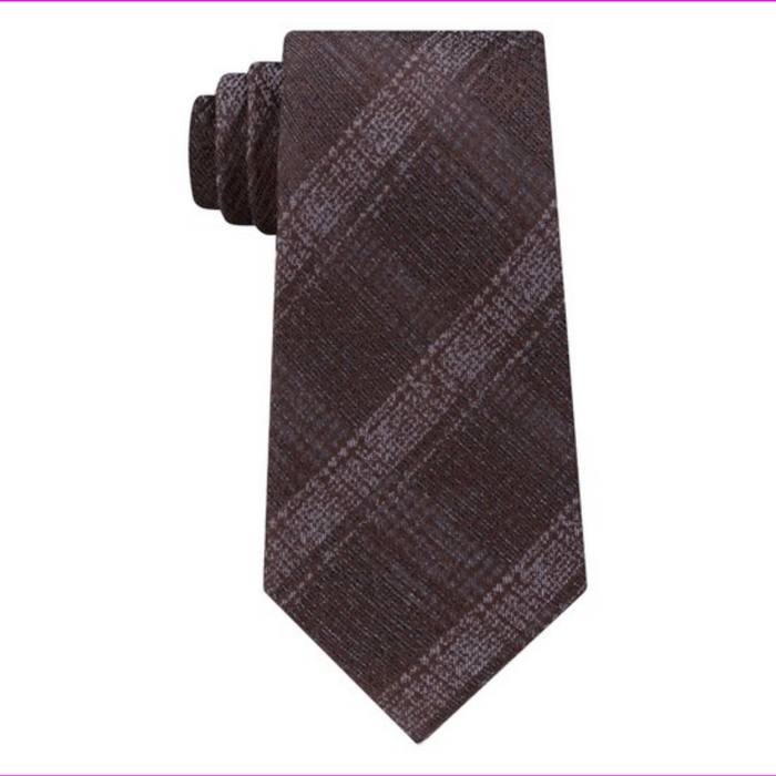 Michael Kors Men's One Size Briarcliff Check Neck Tie
