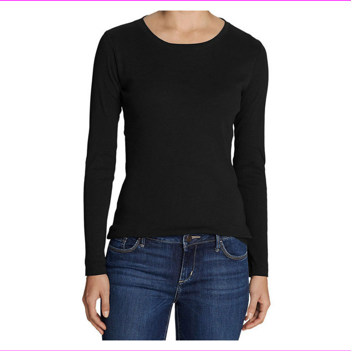 Seg'ments Ladies' Merino Wool Long Sleeve Tee