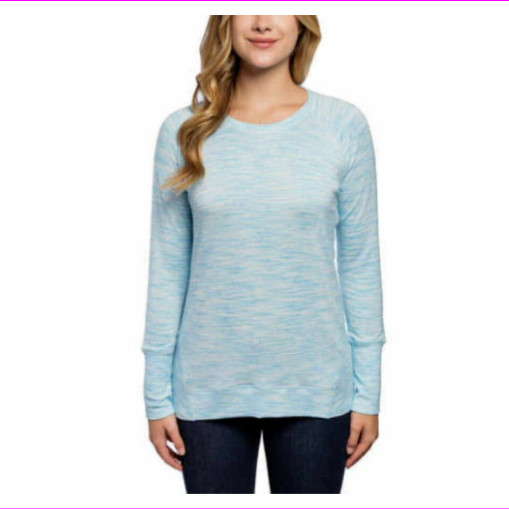 Champion Ladies' High-Low Hemline Crew Long Sleeve
