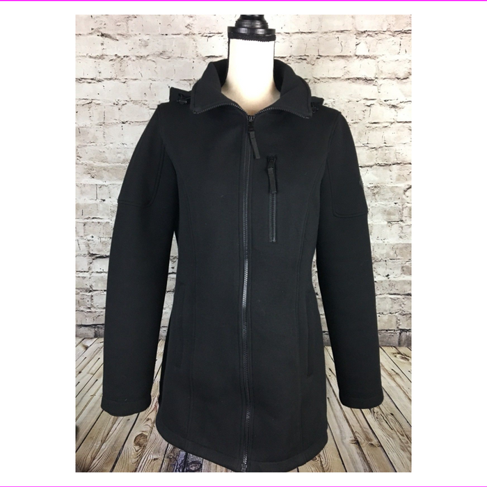 Andrew Marc Ladies' Hooded Knit Jacket