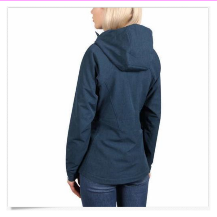 Kirkland Signature Women's Breathable and Wind Resistant Jacket  Teal Heather M