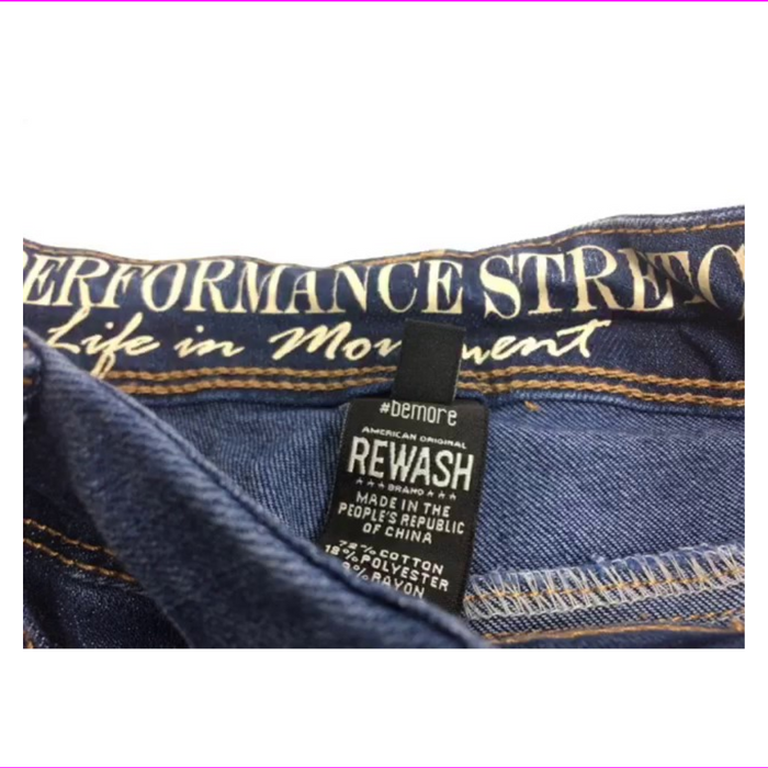 Rewash Juniors Embroidered Ripped