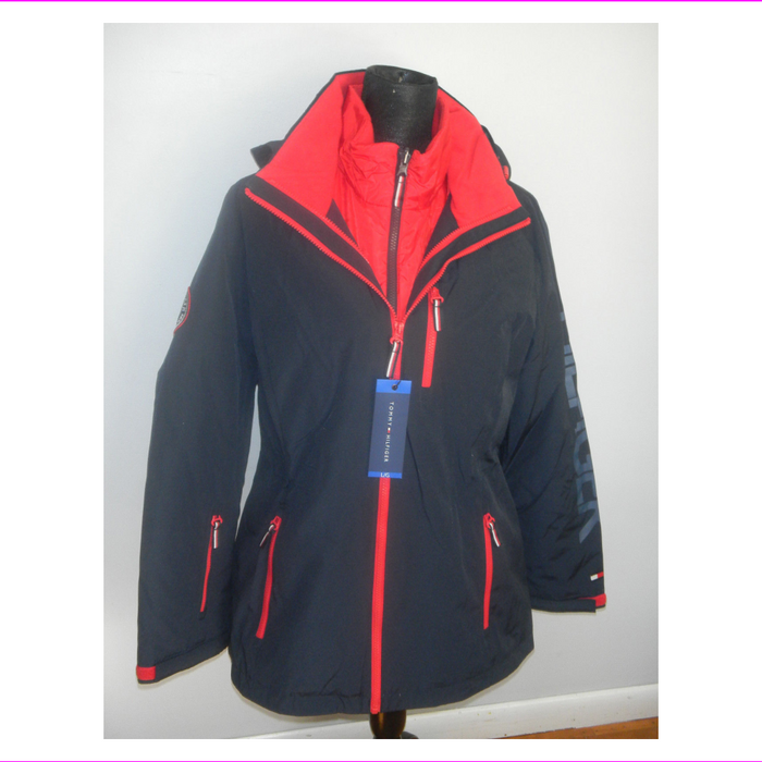 Tommy Hilfiger Women's 3 in 1 All Weather System Jacket