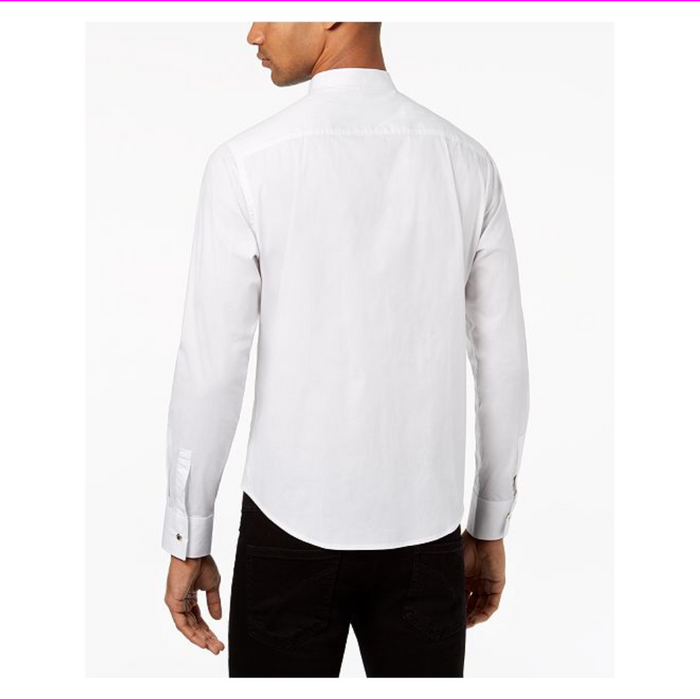Sean John Men's Banded Collar Shirt
