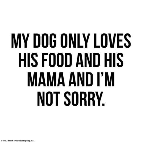 Dog Mom Quotes Favorite Dog Mom Quotes – I'd Rather Be With My Dog Dog Mom Quotes