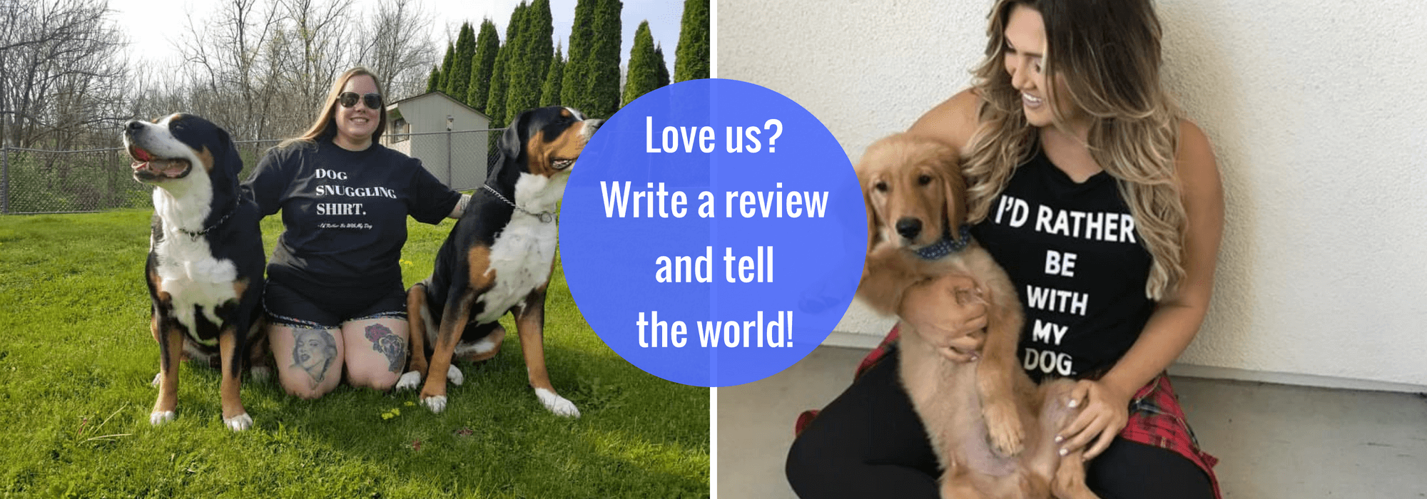 Reviews – I'd Rather Be With My Dog