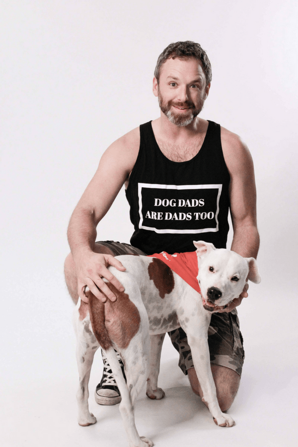 Dog Dad Too | Unisex Tank