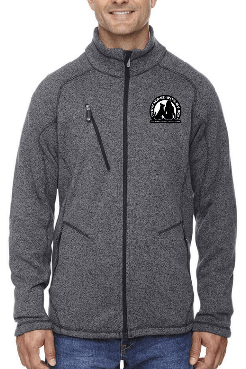 Heavyweight Unisex Fleece Jacket
