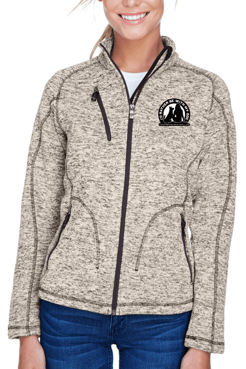 Heavyweight Ladies Fleece Jacket