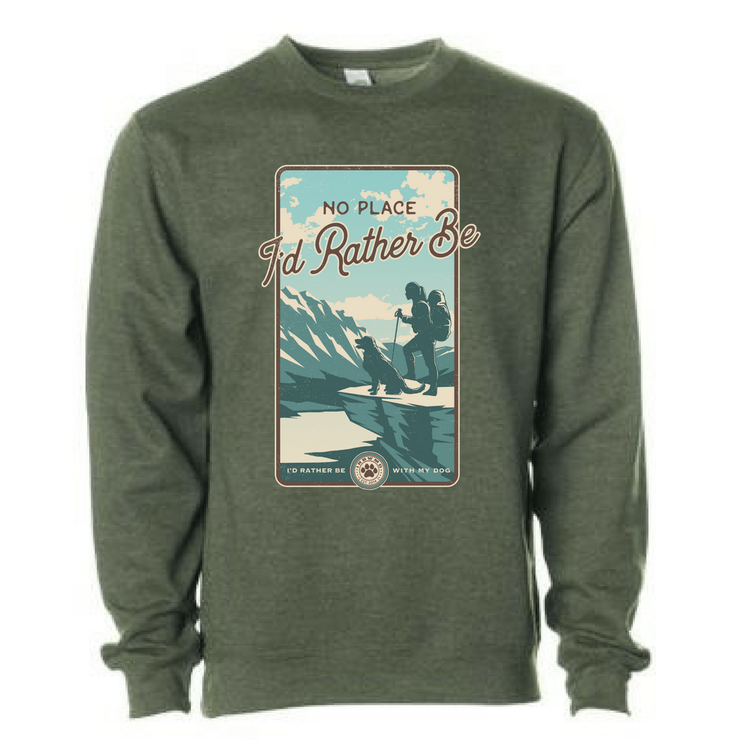 The Mountaineer Unisex Sweatshirt