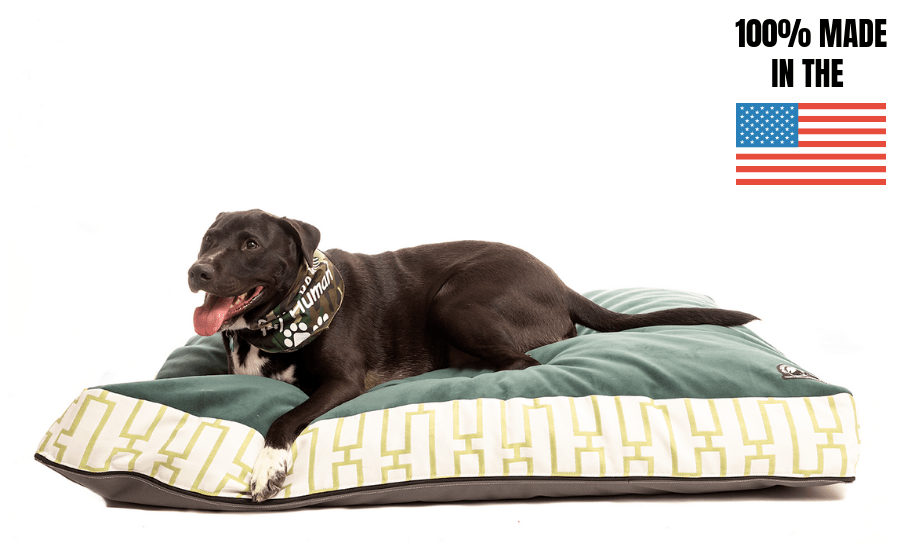 Crushed Memory Foam Dog Bed