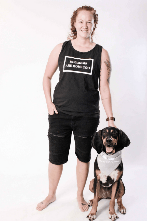 Dog Mom Too | Unisex Tank