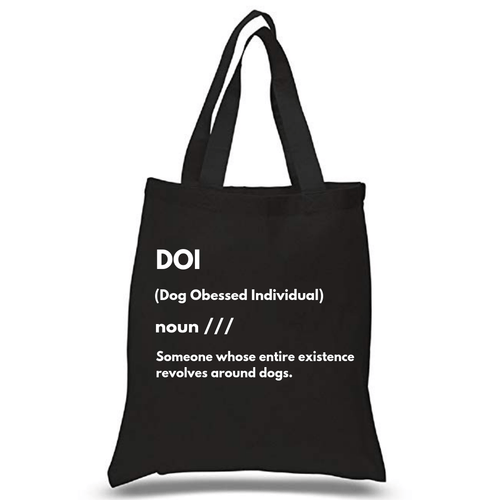 DOI Canvas Tote Bag