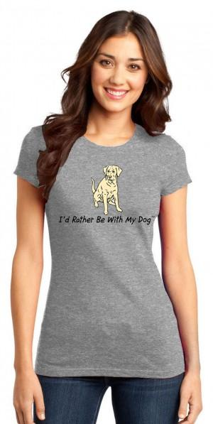Yellow Lab T Shirt