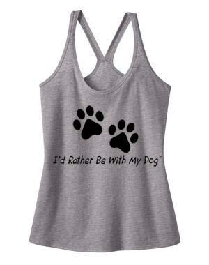 Double Paw Racer Back Tank