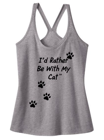 Cat T|back Tank Top