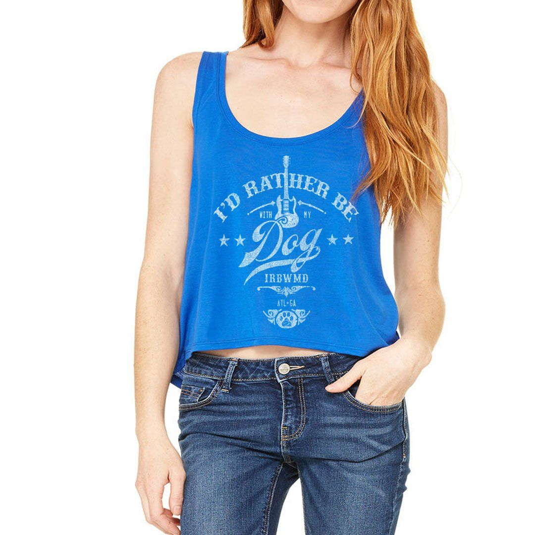 LET IT ROCK | Flowy Crop Tank